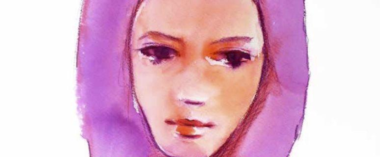 Hanane, dibujada por Verónica García Ardura