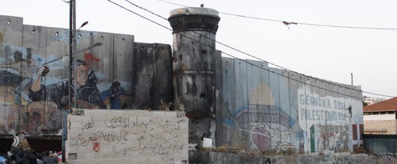 Campo de refugiados de Aida, en Belén, en el que vie Munter Almirah. / Foto: M.A.F.