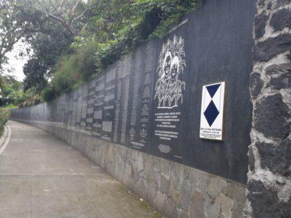 El monumento de El Salvador. /Foto: Olivia Isabel Flores