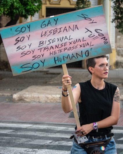 Soy gay, soy lesbiana, soy bisexual, soy transexual, soy heterosexual, soy humano