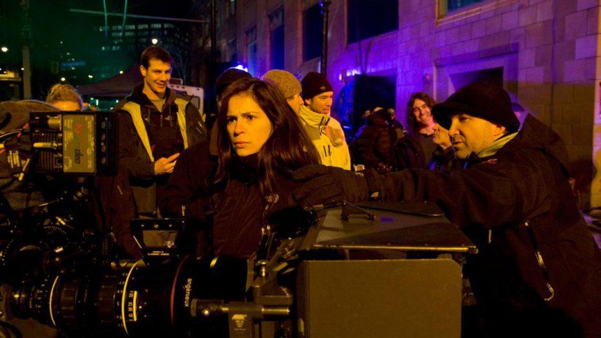 Lexi Alexander y Steve Gainer en el rodaje de Punisher: War Zone (Imagen: Peter Yang)