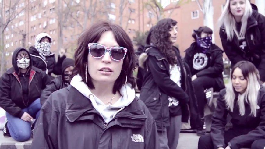 Imagen del videoclip de 'Mantenlo Patriarcal', de IRA