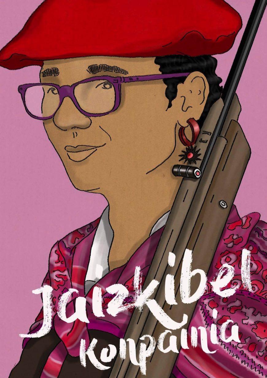 """'Jaizkibel konpainia' komikiaren azala, Iñigo Goicocechea """"Galgó"""" marrazkilari hondarribiarrak egindakoa"""