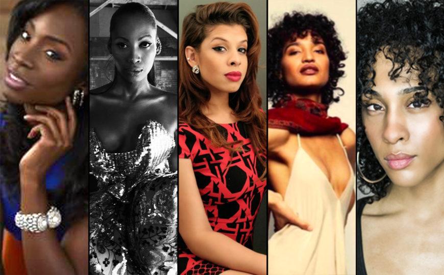 Indya Moore, Angelica Ross, MJ Rodriguez, Hallie Sahar, Dominique Jackson son parte del elenco de la serie 'Pose'