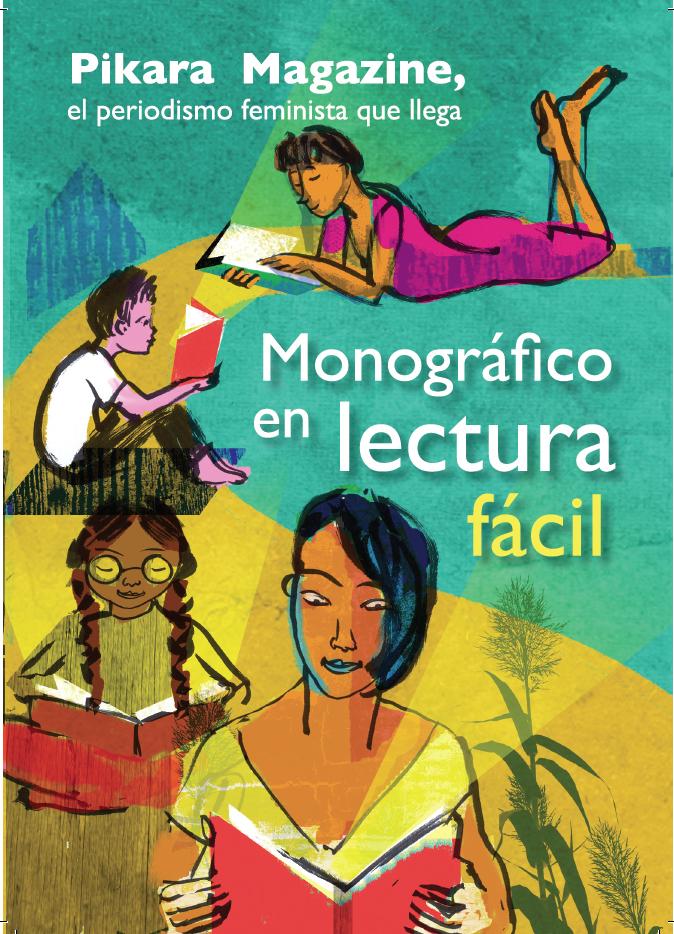 Portada del monográfico 'Pikara Magazine, el periodismo feminista que llega. Monográfico en lectura fácil'