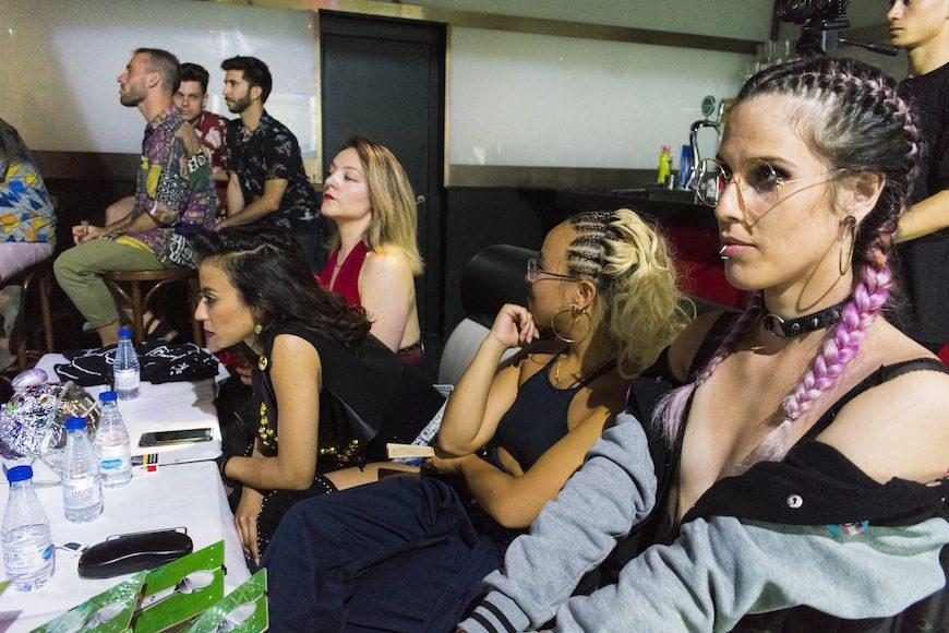 Las juezas. De izquierda al derecha: Silvy Mannequeen, Saida Ubetta, Sattva Ninja y Medusa.