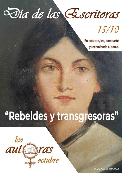 Cartel de la iniciativa 'Día de las escritoras' cuyo objetivo es fomentar la lectura de autoras