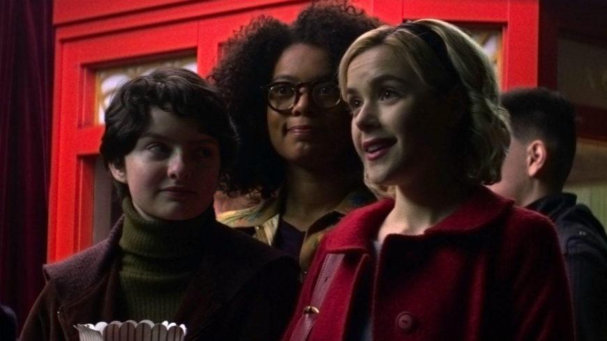 Susie, Roz y Sabrina (de izq. a dcha.)promueven el feminismo interseccional que ellas mismas encarnan./Diyah Pera para Netflix