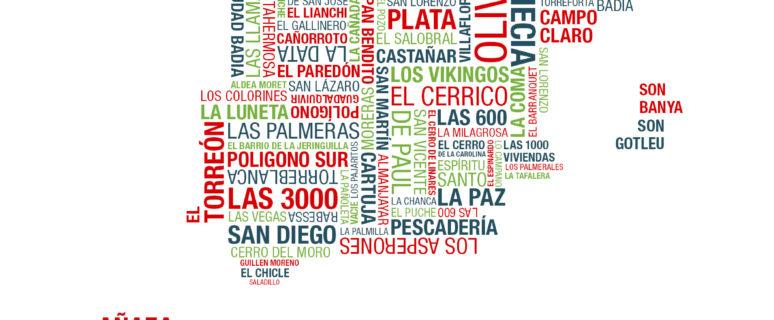 Estos son algunos de los guetos que existen en España. / Infografía: Señora Milton