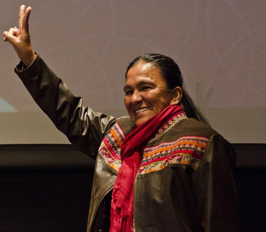 La dirigente política Milagro Sala lleva casi tres años en prisión./ Romina Santarelli para el Ministerio de Cultura de la Nación