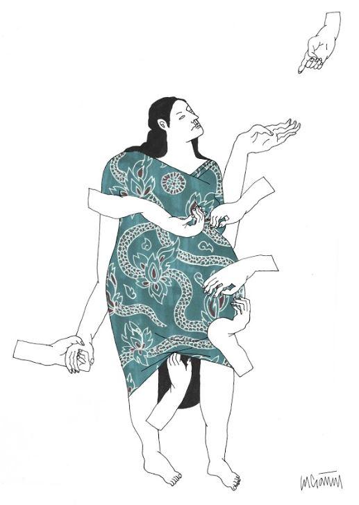 Ilustración de Lucía Naval @nunilobiloba.