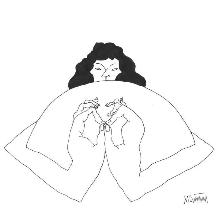 Mujer madre. / Ilustración de Lucía Naval @nunilobiloba.