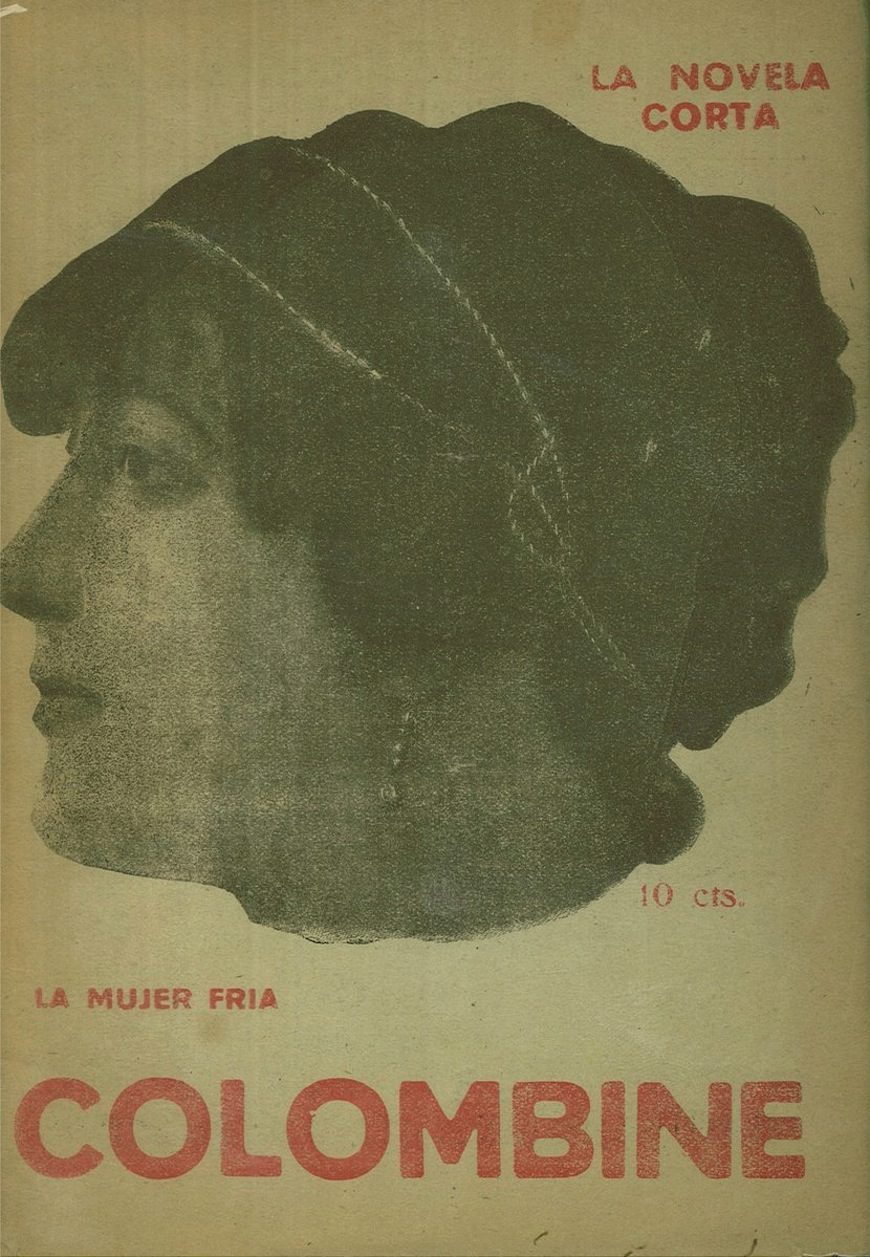 Portada de una novela de Carmen de Burgos