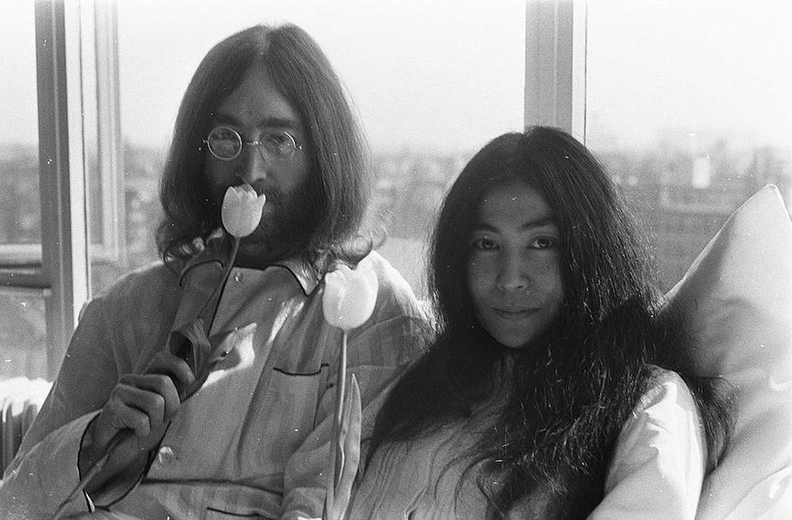 En 1980 John Lennon reconoció que, por machismo, había omitido mencionar la contribución de Yoko Ono a 'Imagine'./ Eric Koch - Anefo