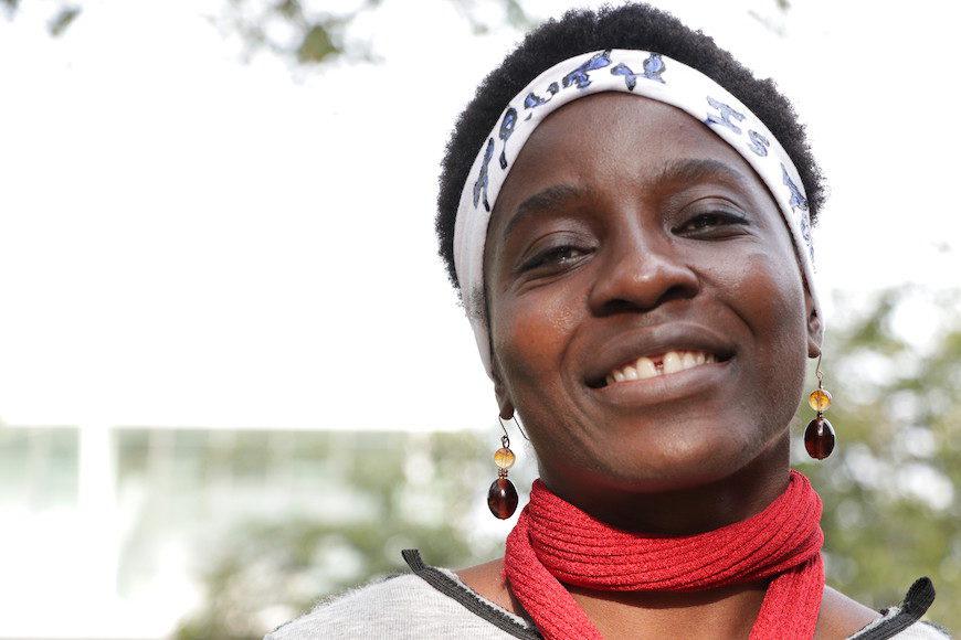 Therese Patricia Okoumou fotografiada por Clàudia Prat