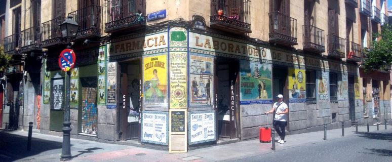 El Café Farmacia, en lo que fue la histórica Farmacia Juanse./ Somos Malasaña