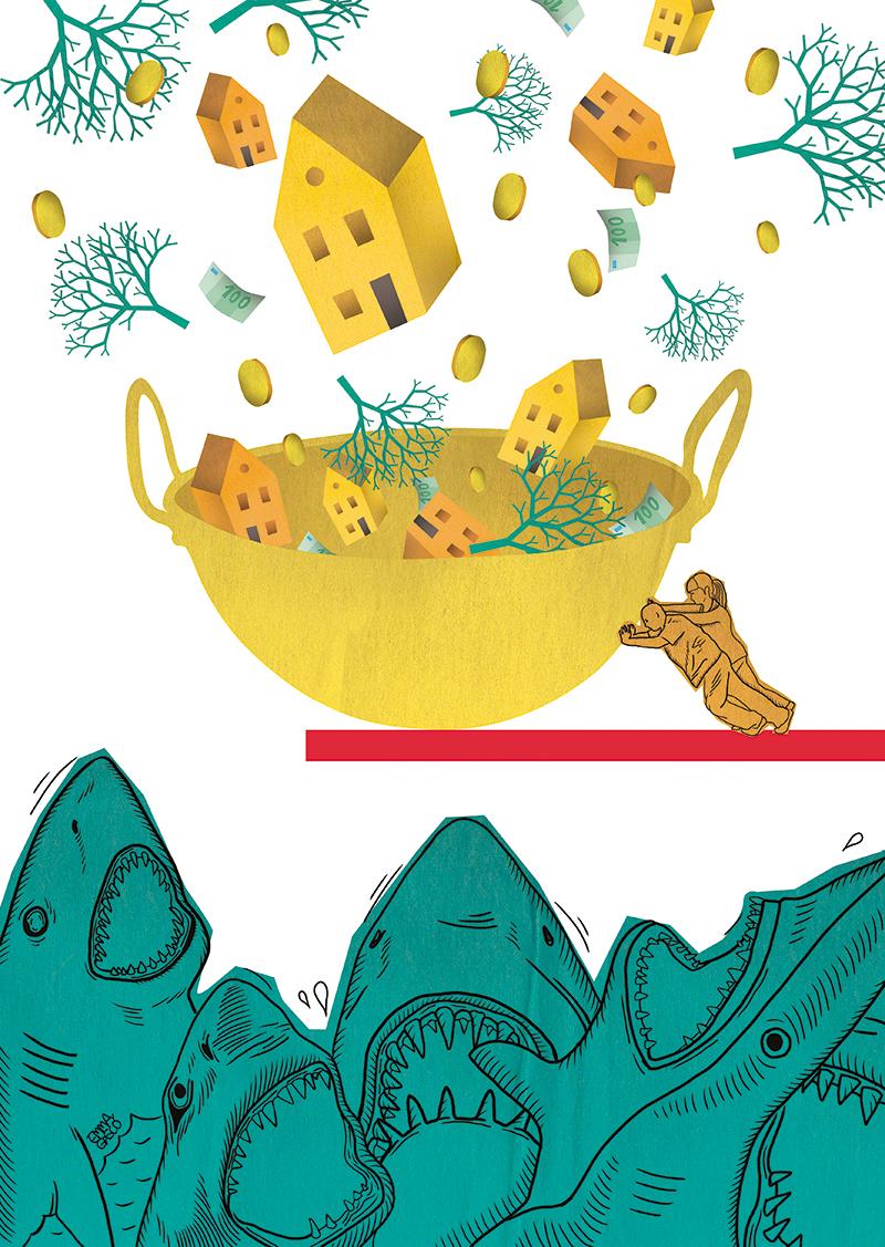 Ilustración de Emma Gascó publicada originalmente en Números Rojos