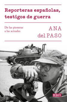 Portada del libro 'Reporteras españolas, testigos de guerra'.