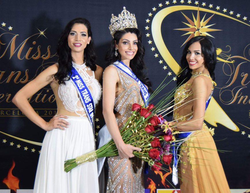Tres candidatas de Miss Trans Internacional 2016