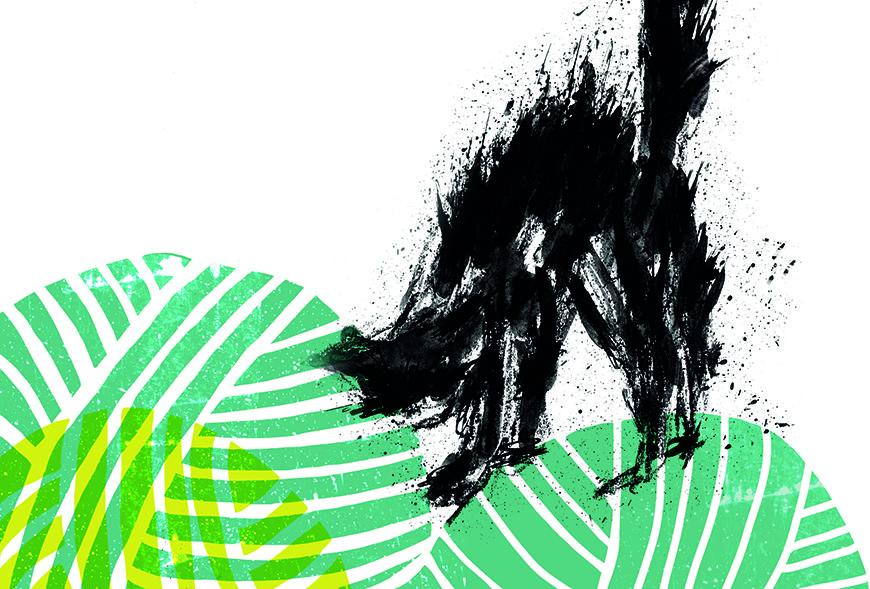Ilustración de Amelia Celaya, de la revista feminista La Madeja