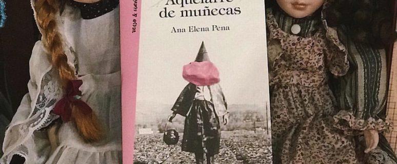 El libro 'Aquelarre de muñecas' sobre dos muñecas de porcelana.