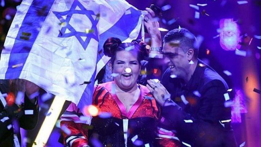 Netta, ganadora de Eurovisión en 2018./ Twitter