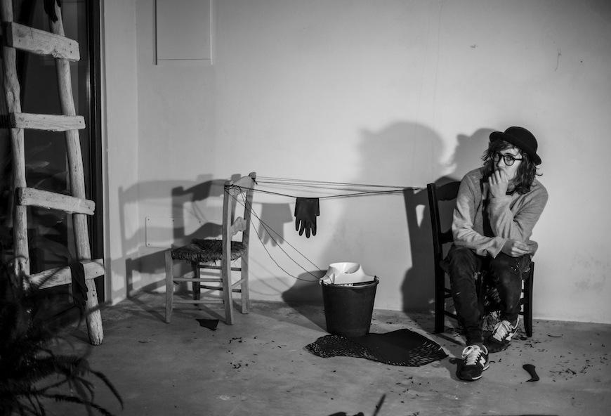 Natalia Fariñas en su exposición Modus In Operandi./ Foto del archivo de la entrevistada
