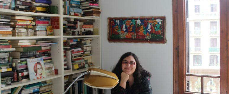 Gloria Fortún en su estudio./ Foto de su archivo personal