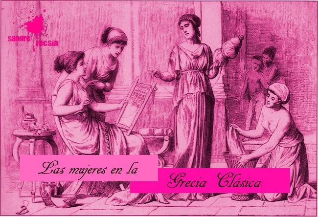 Sangre Fucsia - Las mujeres en la Grecia clásica