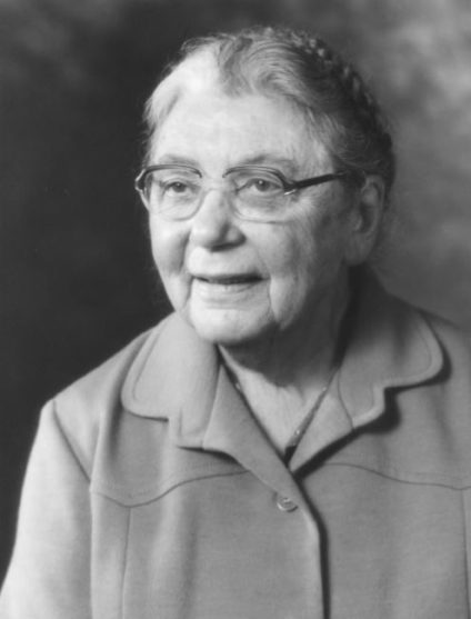 Un retrato de la química Elsie Widdowson.