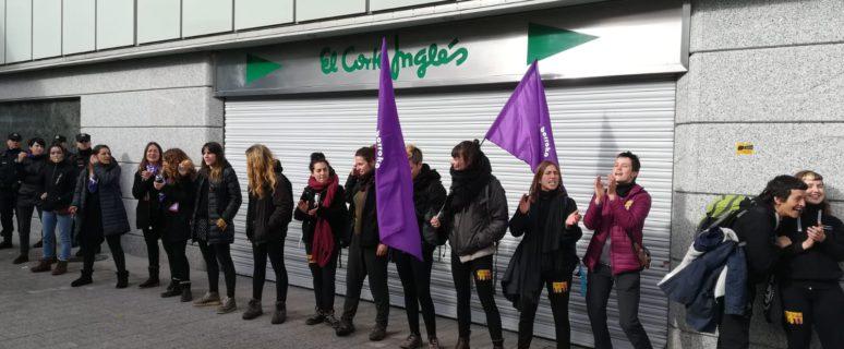 Huelga del 8M en Gasteiz. Imagen de O no será.