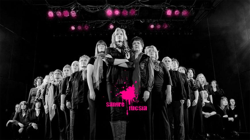 Sangre Fucsai - Mujeres sobre un escenario
