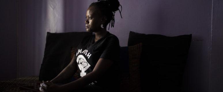 Gigi Louisa en su casa en Nairobi./ GUILLEM SARTORIO