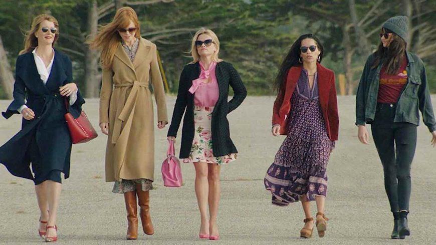 Las protagonistas de Big Little Lies, apodadas en esta segunda temporada como 'las cinco de Monterrey'