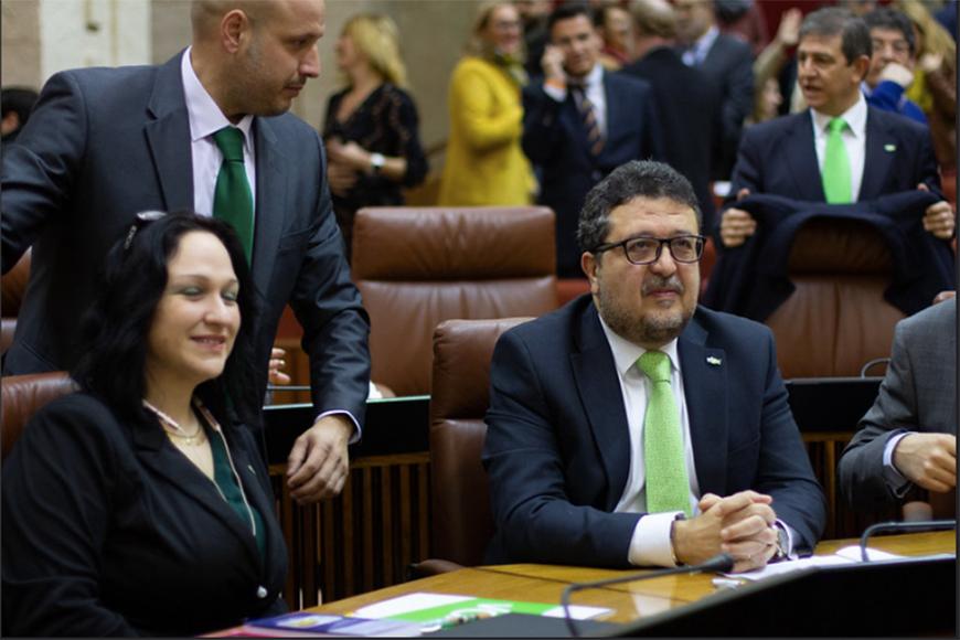 Debate Investidura Presidencia de la Junta de Andalucía - Flicker de Vox