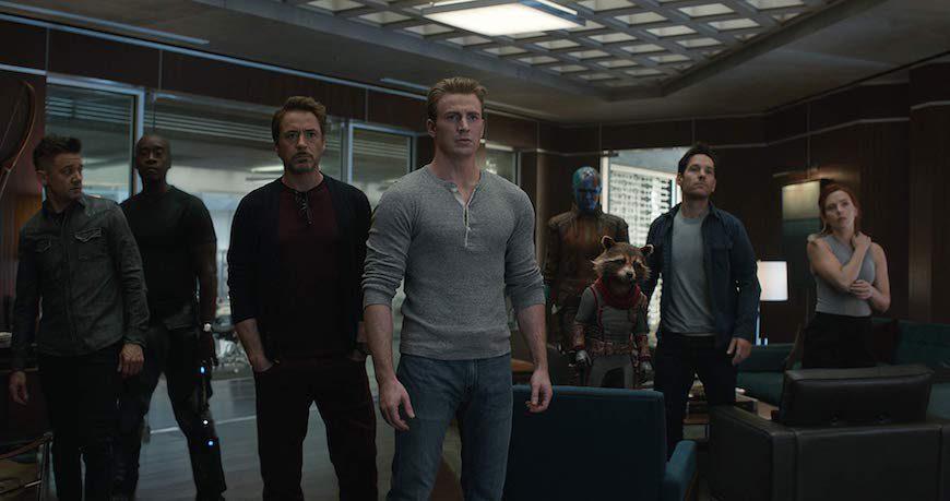 Reparto de 'Vengadores: Endgame', con Scarlett Johanson como única protagonista femenina