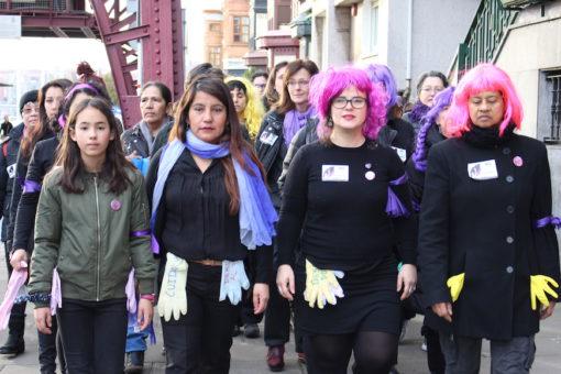 Por las trabajadoras del hogar y cuidados que no pueden hacer huelga. 09/03/2018.