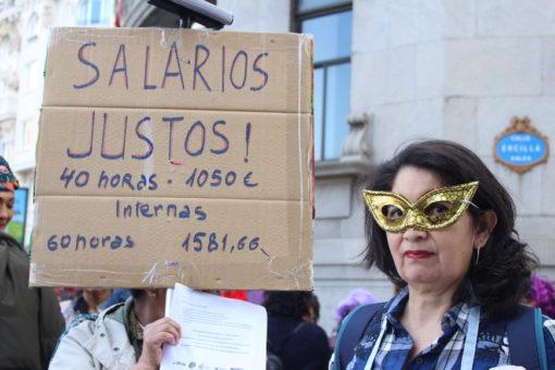 En su día internacional, las Trabajadoras de Hogar exigen igualdad de derechos. 30/03/2019.